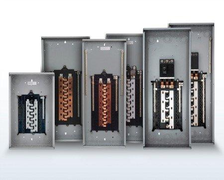 Set of switchboard panels